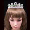 Silberne Tiara heiße Verkaufskrone Kristall headwear