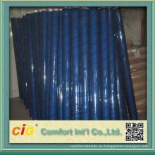 Vinyl klar Blatt weiß Farbe blau Farbe