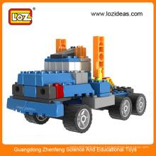 Рождественские подарки Loz 5in1 gruond fight вставляемые блоки игрушка инженерная техника, toy truck