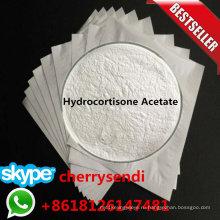 Гидрокортизона ацетат актуальных порошок CAS 50-03-3 противовоспалительное