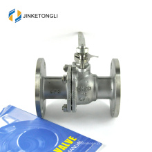 JKTLFB021 cf8m 1000wog Válvula de esfera de caldeira de ferro fundido de 90 graus de 90 graus
