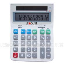 Calculateur de bureau électronique à 12 chiffres avec fonction fiscale optionnelle En / Jp (LC222T-JP)