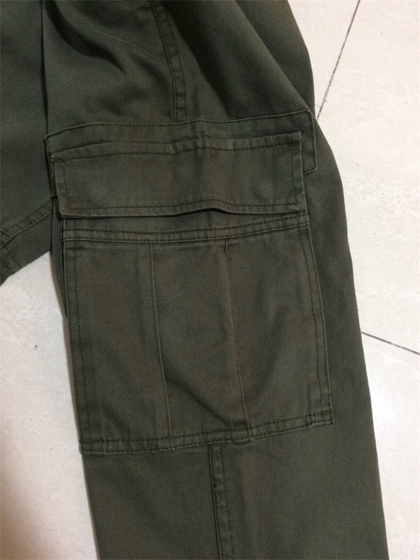 High Quality Elastic Cargo Pants