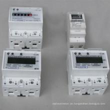 35-mm-DIN-Schienen-Wattstundenzähler mit Impulsausgang