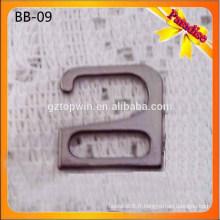 SB09 Black Color Metal Bra Adjuster / Bra Strap clip / soutien-gorge tendresse accessoires de maillot de bain