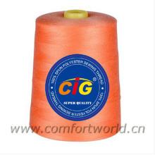 100% gesponnenes Polyester-Nähgarn 40S / 2-10000Yds