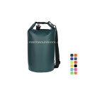 Outdoor PVC Waterproof 25L Backpack Dry Bag With Shoulder Straps