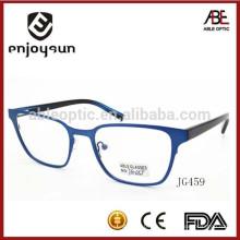 Gafas de diseño unisex gafas de moda de metal óptico