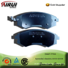 BRAKE PAD FOR hyundai elantra 2000-2006