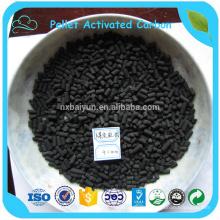 Iodzahl 1050 mg / g Kohlensäulen-Aktivkohle zur Wasserreinigung