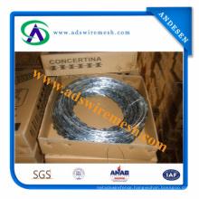 Wholesale Razor Barbed Wire / Galvanized Razor Barbed Wire Fence / Razor Barbed Wire Fencing (Factory)