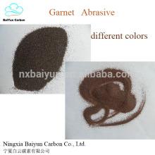 Konkurrenzfähiger grüner Granatpreis, der Granatabschleifmittel abstrahlt