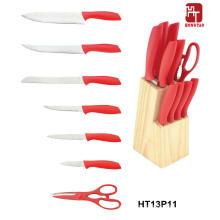 Melhor faca de cozinha com bloco de madeira
