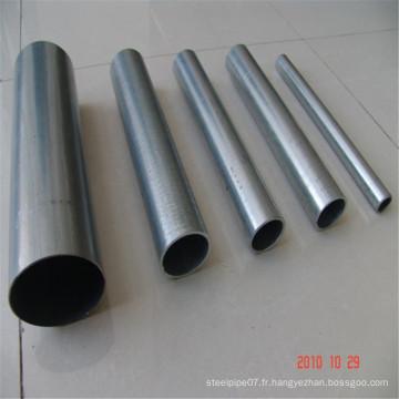 Échafaudages à section ronde soudée au carbone ERW pour la construction