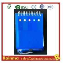 Mini PVC Cover Notebook with Mini Ball Pen