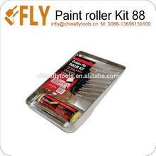 Kit de rodillo de pintura resistente de 3 piezas