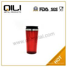 Nuevos productos alto 16oz claro taza de café de plástico