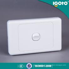 PC Material Runder Knopf Australien Lichtschalter