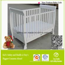 Pine Wood Baby Cot Meubles pour enfants Produits pour bébés