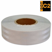 DOT C2 PET Reflective Trailer Tape | Automotive Motorcycle Cargo Tractor Trailer Warning Caution Tape | Safety Automotive Light