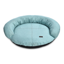 Luxury Freshness Home Garden Indoor Form Cozy Cotton Cloth Round Pet Dog Bed