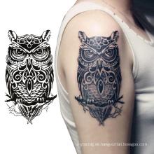 Günstige Wasserdichte Body Art Schädel Druck Voller Arm Temporäre Tattoo Aufkleber