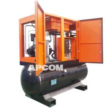 APCOM High Pressure Screw Aircompressor Laser Cutting Air Compressor fiber laser cutting with air compressor for laser cutting