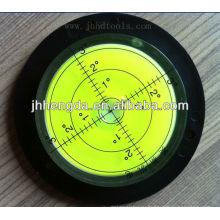Высокоточный прозрачный акриловый круглый флакон уровня, флакон уровня
