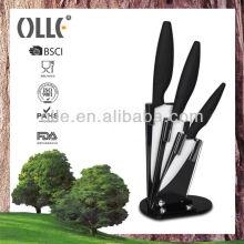 3pcs New Straight Series Handle Knives Ceramic Set