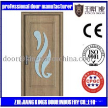 MDF Holz-PVC-Glastür