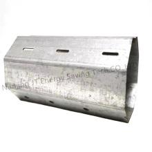 Roller Shutter/Rolling Shutter Accessories, Galvanized Octagonal Tube