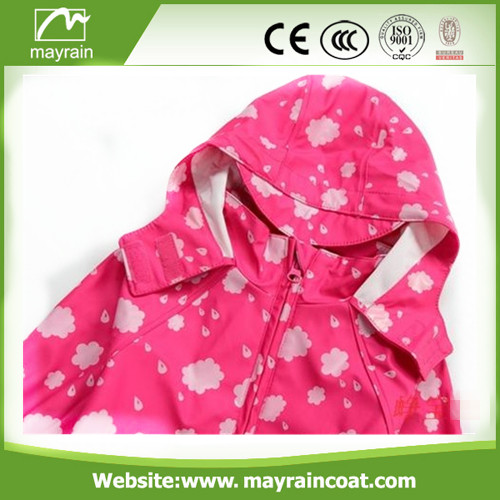 Lovely Child PU Raincoat