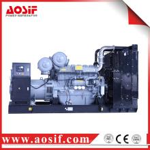 600KW / 750KVA 50hz generador con perkins motor 4006-23TAG2A hecho en Reino Unido