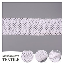 Top quality Different kinds of crocheted garment lace trim cotton