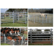 Galvanized 6 Bars Steel Cattle Panels/Hot Dipped Galvanized Cattle Livetsock Panels/Cattle Farm Equipment Cattle Panel/1.8X2.1m Livestock Cattle Panel for Sale