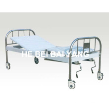 a-136 Movable Double-Function Manual Hospital Bed