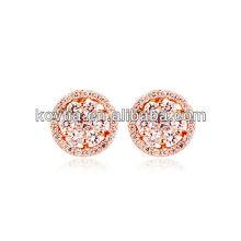 Ouro zircão brincos brincos aliexpress chinês jóias brincos acessórios mulheres