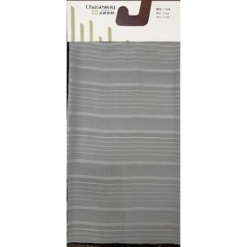 Grau Streifen Stoff 100% Polyester Kleid Stoff