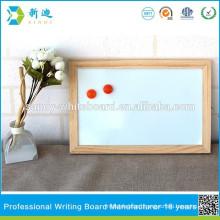 mini cheap wood magnetic whiteboards for fridge 20*30cm