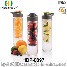Hot Sale BPA Free Plastic Fruit Infusion Water Bottle (HDP-0897)