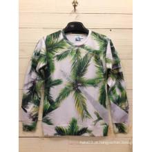 Cenário natural da árvore de coco camiseta