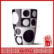 HCC white ceramic mug with orca coatings