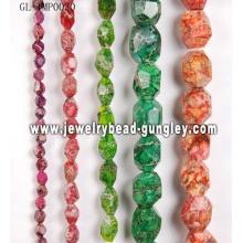 Cadena de bolas de piedra natural para la joyería DIY