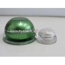 5ml 15ml 30ml 50ml fashion plastic cosmetic container acrylic jar