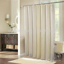 Cortinas de banheiro de jacquard e cortinas de chuveiro