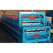 Профилегибочная машина для производства цветных стальных трапециевидных профилей
