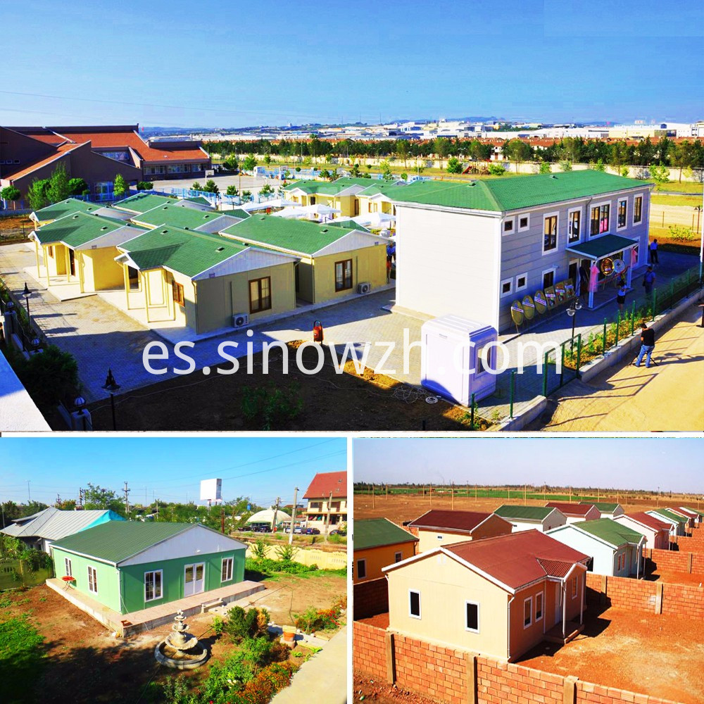 exterior decoration of prefabricated house