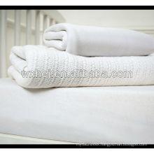 100cotton hospital OE yarn leno blankets