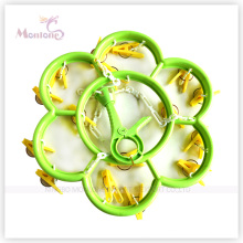 Diameter 29.5cm Flower Shaped Plastic Clothes Hanger