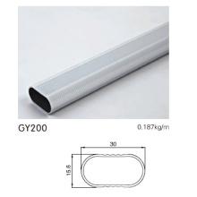 Aluminium Hanger Tube Profil für Kleiderschrank Tür